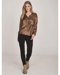 NÜ Emi Shirt - Brown Sugar- 653140