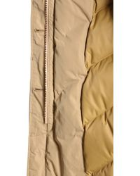 """Woolrich """"luxury Arctic"""" Down Jacket - Natural"""