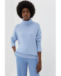 Chinti & Parker Chinti & Parker The Relaxed Polo - Blue
