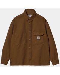 Carhartt Reno Shirt Jac - Tawny - Brown