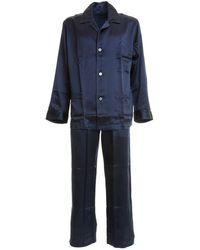 Brioni Pajamas - Blue