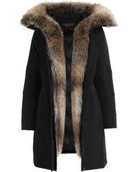 Woolrich Wâ ́s Luxury Boulder Coat Black