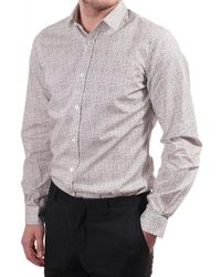 Paul Smith Paul Smith Mens Shirt Tailored Single Cuff With B S - White