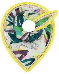 POM Amsterdam Dragon Play Scarf - Multicolour