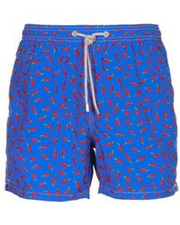 Mc2 Saint Barth - Sea Clothing Blue - Lyst