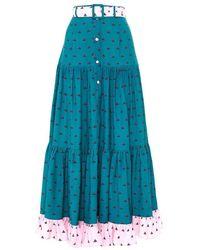 Paolita Melia Margaux Skirt - Blue