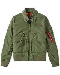 Alpha Industries Flight Jacket Cwu Vf Tt Sage Green