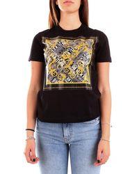 Versace Jeans Couture T-shirt Short Sleeve Women Black