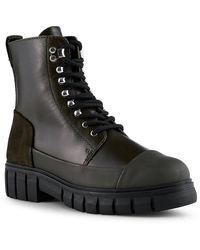 Shoe The Bear Rebel Long Khaki Boots - Green