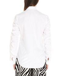Sara Battaglia Cotton Shirt - White