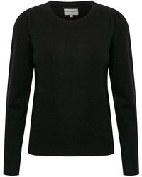 Part Two Evina Black Knit