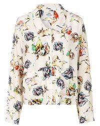 Atterley Mads Norgaard - Arty Garden Spola Floral Shirt - White