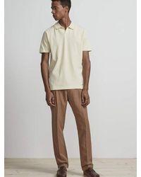 NN07 Paul Polo Shirt In Vanilla - Natural