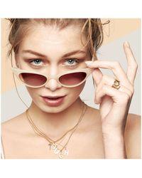 Rachel Jackson - 'c' Alphabet Necklace - Lyst