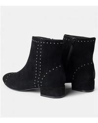 Shoe The Bear - Rose Studs Suede Ankle Boot - Lyst