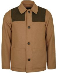 Gloverall Donkey Jacket Camel - Brown