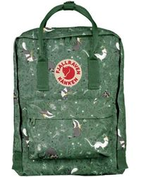 "Fjallraven - Fjallraven Kanken Art 13"" Laptop Backpack Green Fable - Lyst"