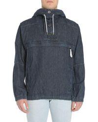 Diesel Black Gold Cotton Outerwear Jacket - Blue