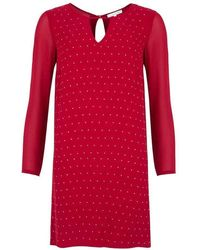Patrizia Pepe Sparkles Dress - Red