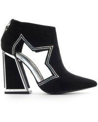 Kat Maconie Black Suãƒâˆde Dusty Ankle Boot