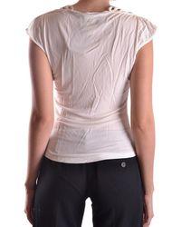John Richmond Tshirt Short Sleeves Pt2458 - White