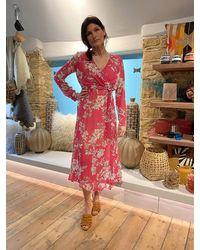 iBlues Salda Dress In Fuschia - Pink