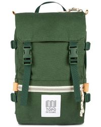 Topo Rover Pack Mini 10l Backpack Forest Canvas - Green