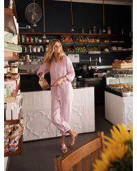 Nrby Lise Linen Jumpsuit - Pink