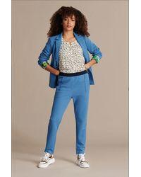 POM Amsterdam Trousers - Sky Shimmer - Blue