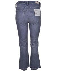 AG Jeans - The Jodi Crop 15 Years In Grey Sulphur - Lyst