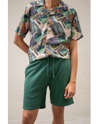 RVLT 4036 Sweat Shorts - Green