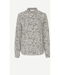 Samsøe & Samsøe Milly Shirt - Ecru Buttercup - Gray