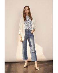 Part Two Medium Blue High Waist Aila Denim Jeans