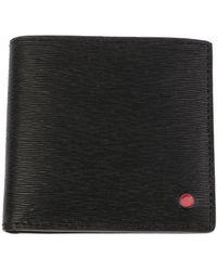 Kiton Wallets Upvenebn00815 0200y - Black