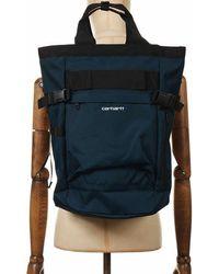 Carhartt Wip Payton Carrier Backpack - Deep Lagoon Colour: Deep Lagoon - Green
