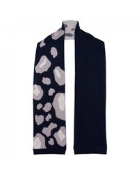 Duffy Clothing Cashmere Scarf - Blue