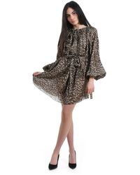 Zimmermann - Women's Zmmadodnac1st047755850 Beige Silk Dress - Lyst
