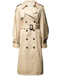 Alexandre Vauthier Trench - Natural