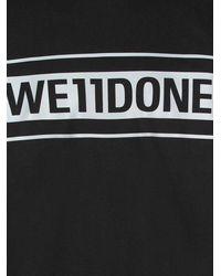 we11done Cotton T-shirt - Black
