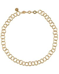 Sence Copenhagen Essentials Short Necklace - Matt - Metallic