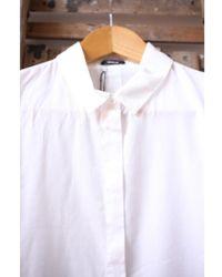 Denham - Icon Bone White Shirt - Lyst