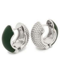 Coco & Kinney Forest Green Reversible Barbara Lynns In Silver