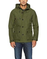 Woolrich - Light Mountain Jacket Green Field - Lyst