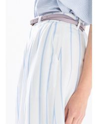 Paisie - Striped Culottes - Lyst