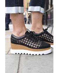 Sol Sana - Fremont Black Wedge Shoes - Lyst
