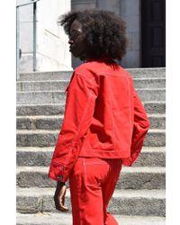 Native Youth - Alexandra Red Trucker Jacket - Lyst
