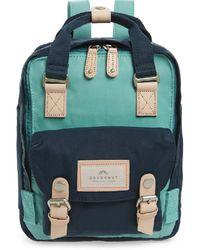 Doughnut Bags | Macaroon Mini Backpack | Sky Blue