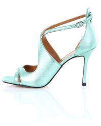 Marc Ellis Heeled Shoes Check Women Green Water