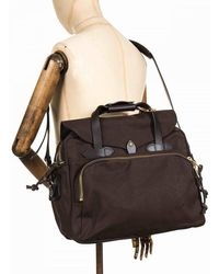 Filson Padded Computer Bag - Brown