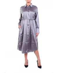 Purotatto Dress Calf Dark Grey